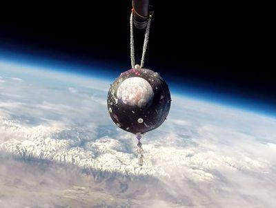 Earth to Sky Christmas Ornament